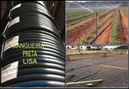 """Título do anúncio: Mangueira Preta p/Irrigação (1.5"""" x 3,5mm x 100m) D.Fábrica"""
