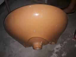 Título do anúncio: Vendo pia nova nunca foi usada só está suja pq a casa está em obra