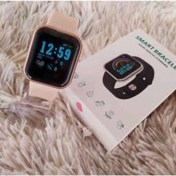 Relógio inteligente Smartwatch D20 Lançamento 2021 Põe Foto na tela