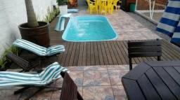 Casa Praia do Sonho Piscina, Qd Volei, Futeb, Quiosque c/ churrasqueira, salão de festa
