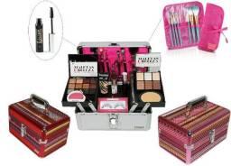 Maleta+Kit de Maquiagem Completo Ruby Rose+Brinde