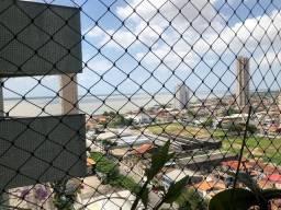 3 suítes com 2 vagas de garagens soltas no Umarizal, andar alto com vista para Bahia