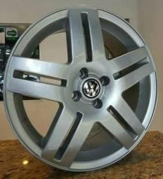 Rodas VW Golf VR6 aro 17 novas parcela até 24x no carnê e cheque