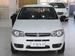 Palio Economy 1.0 c/ ar condicionado branco - apenas 65.000 km 2012