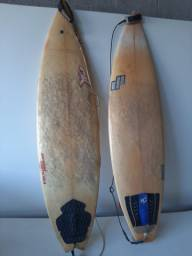Prancha de surf em fibra