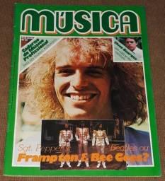 Revista Música n. 29 - Peter Frampton Bee Gees