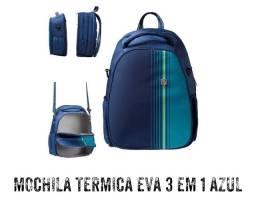MOCHILA TÉRMICA EVA 3 EM 1 AZUL