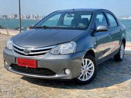 Etios Sedan 1.5 XLS 2013 Completo