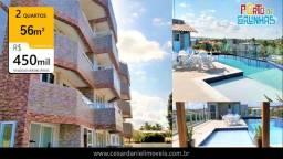 Flat em Porto de Galinhas | 56m² | 2 Quartos | Pernambuco