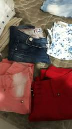 Vendo lote de roupa feminina