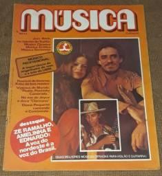 Revista Música n. 43 - Zé Ramalho Amelinha e Ednardo