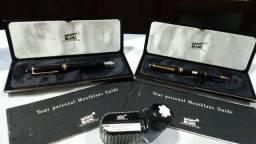 Estojo com canetas Mont Blanc