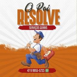 O Pai Resolve serviços gerais