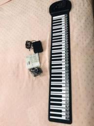 Teclado Musical de silicone