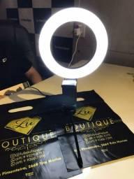 Ring Light 16 cm PROMOÇÃO ATÉ ZERAR ESTOQUE