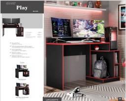 Título do anúncio: Mesa Gamer 1,36cm de largura NOVA com frete grátis para o ES