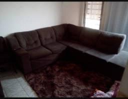 Título do anúncio: Vendo ou troca sofá de canto super confortável