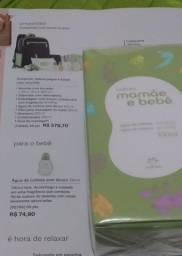 Colônia mamãe bebê natura por 45 reais