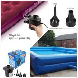 Título do anúncio: Inflador elétrico 110v para objetos infláveis, bexiga, bóias etc entrego no local