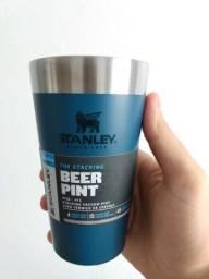 Copo Térmico Stanley Beer Pint 473 Ml sem tampa - Azul