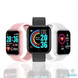 Relógio Smartwatch Inteligente Y68 Android e IOS