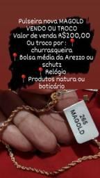 Pulseira MAGOLD / VENDO OU TROCO