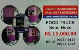 Título do anúncio: Vende-seTrailer Food Truck