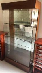 Cristaleira Alto padrão c/led e espelho