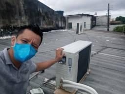 lavagem e instalação de ar condicionado