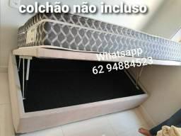 Título do anúncio: Cama box baú solteiro//88×188×43// a pronta entrega direto da fábrica......