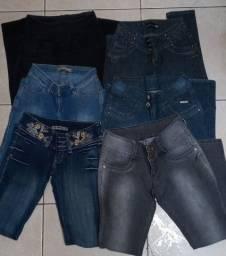 Lote calça jeans feminina n°40
