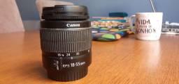 Título do anúncio: Lente Canon 18-55mm APS-C