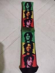 Meias do Bob Marley