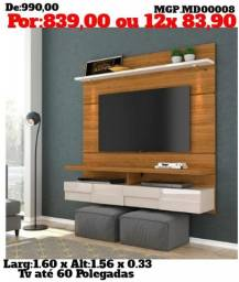 Grande Promoção em MS- Painel de televisão Grande - Painel de TV até 60 Plg- Sala de Estar