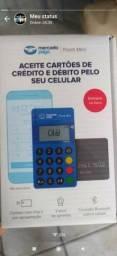 Point Mini ME30S acender o visor e aceita pagamento com aproximação de cartão!