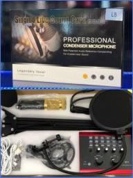 Microfone condensador L8