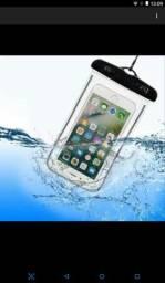 Capa para celular aprova d'agua impermeável!