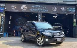 Hyundai Santa Fé 4x4 3.5 V6 GNV ARO 18 couro led  Vistoriado 2021
