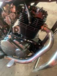 Título do anúncio: Motor de estrada cbx 200