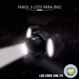 Farol led panorâmico 3 leds