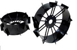 Jogo de Rodas de Ferro para Usar com Micro Trator