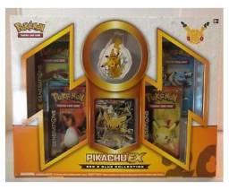 Box Pokemon Pikachu EX