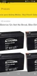 4 baterias bike elétrica