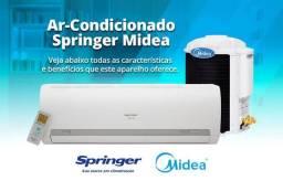 Ar Split Springer Midea 9000 BTUs + Nota + Garantia + Aceito Cartão