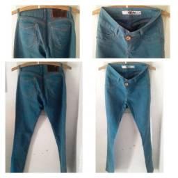 Calcas jeans/ saia