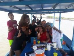 Passeio náutico em Raposa Carlos Gomes Turismo