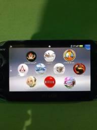 PS Vita Com 9 jogos e um cartao de 8Gb