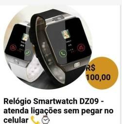 Relógio Smartwatch DZ09 - atenda ligações sem pegar no celular ?: Relógio