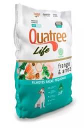 Ração Quatree Life para Cães Filhotes de Raças Pequenas Frango e Arroz - 10Kg