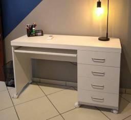 Título do anúncio: Escrivaninha Com Gaveteiro/Rodízio   Modelo: L 1.20 M